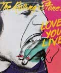 "Andy Warhol. Portada del disco ""Love You Live"" de The Rolling Stones [Rolling Stones Records, 1977]."