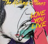 "Andy Warhol. Portada del disco ""Love You Live"" de The Rolling Stones [Rolling Stones Records, 1977]."