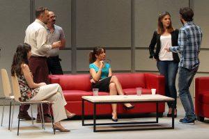 Bajo Terapia. Foto: PTC teatro.