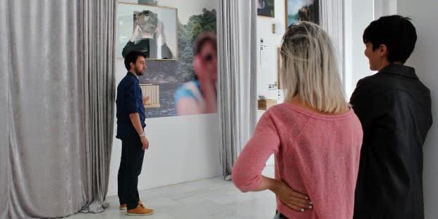 Exposición 'Cuestionamiento II - Sociedad'. Foto: Sonia Aguilera.