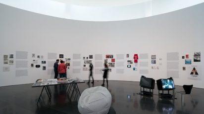 Punk. Sus rastros en el arte contemporáneo. Vista de la exposición. Foto: Miquel Coll.