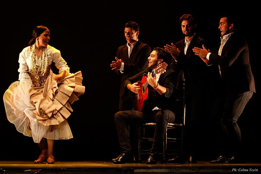 Flamenklorica, de Vanesa Coloma. Foto: Celina Yeyén.
