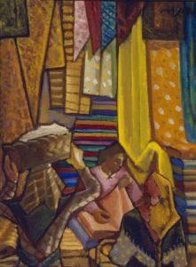 Carlos Maside. Tenda, 1933. Óleo sobre lenzo. Colección Legado Carlos Maside.