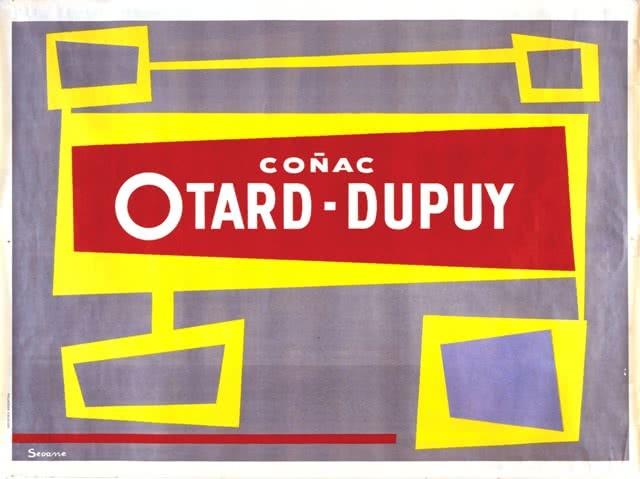 Luis Seoane. Cartel de Otard-Dupuy, ca. 1952. Impresión de litografía. Colección Fundación Luis Seoane.