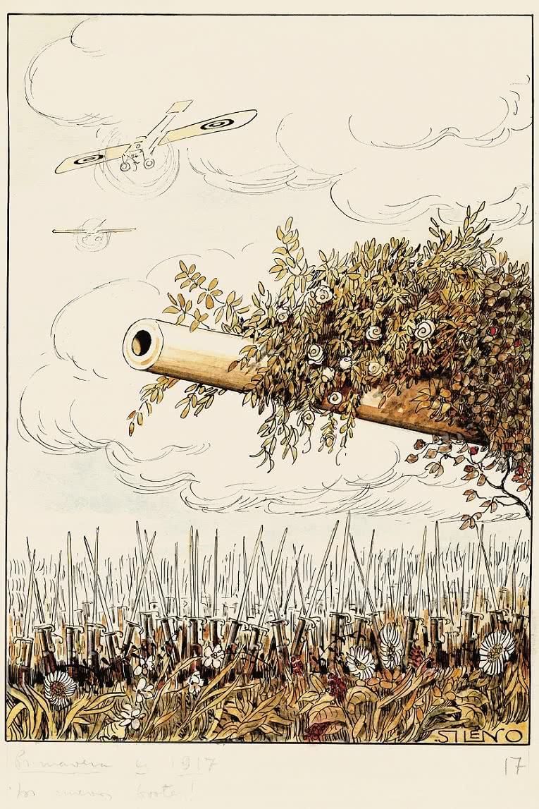 Sileno, Primavera de 1917. ¡Los nuevos brotes!, 18 de marzo 1917.