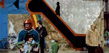Harry Gruyaert Antwerp. Carnival, 1992.
