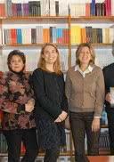 El equipo de Kairós (de izquierda a derecha): Anna Ayesta, Renato Glinoga, Patricia Malagarriga, Isabel Asensio, Ana Buil, Agustín Pániker y Meritxell Ferrer.