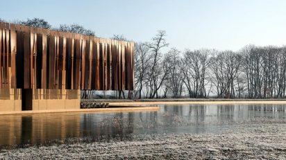 RCR Arquitectes. Crematorium Hofheide Holsbeek, Bélgica.