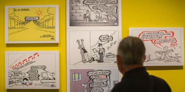 Exposición 'Cervantes (Don Quijote) Forges, un diálogo a través de las eras'.