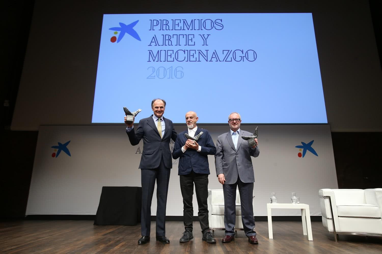 Entrega Premios Arte y Mecenazgo 2016.