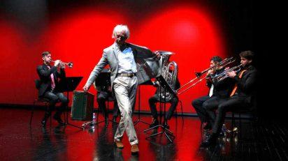Albert Boadella en su acto de despedida de los Teatros del Canal.