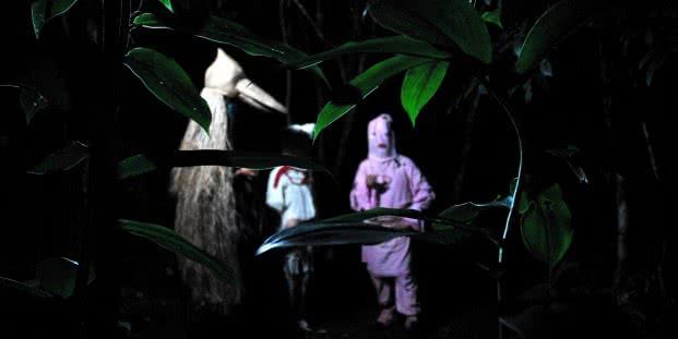 Sara Ramo. Imagen del rodaje del vídeo 'Los Ayudantes'.