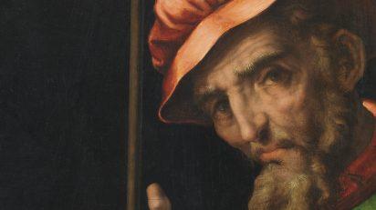 Luis de Morales. Cristo presentado al pueblo, c. 1570. Museo de la Real Academia de Bellas Artes de San Fernando, Madrid.