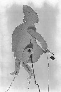 Diseño de Ramon Casas y realización de Josep Meifrèn, Pompeu Gener. Sombras chinas para teatro. Els Quatre Gats, hacia 1897-1898.