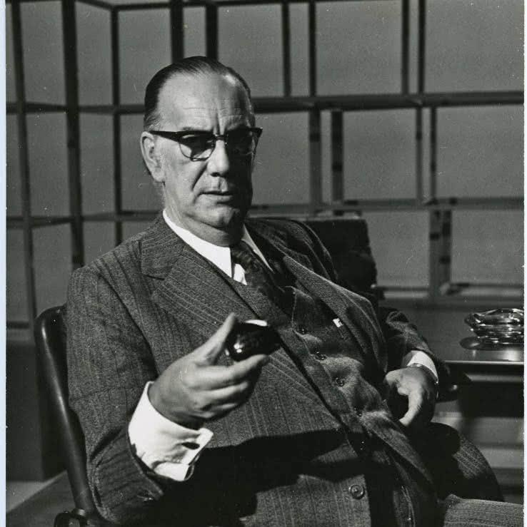 Camilo José Cela en el programa 'A fondo' de RTVE, 1976.