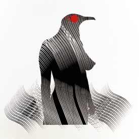 Carlos Amorales. Mujer pájaro, 2005.