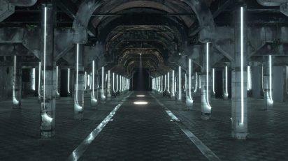 (Selfi) de Darya Von Bermer. Abierto x Obras. Matadero Madrid. Enero 2016.