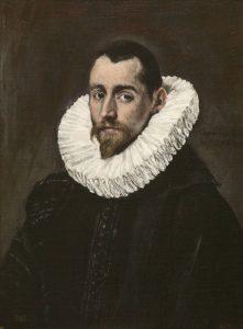 El Greco. Caballero joven.