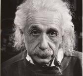 Philippe Halsman. Albert Einstein, 1947.