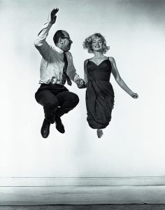 Marilyn Monroe y Philippe Halsman, 1954.
