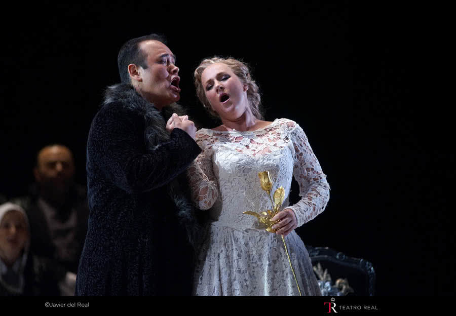 I Puritani. Fotógrafo: Javier del Real | Teatro Real.
