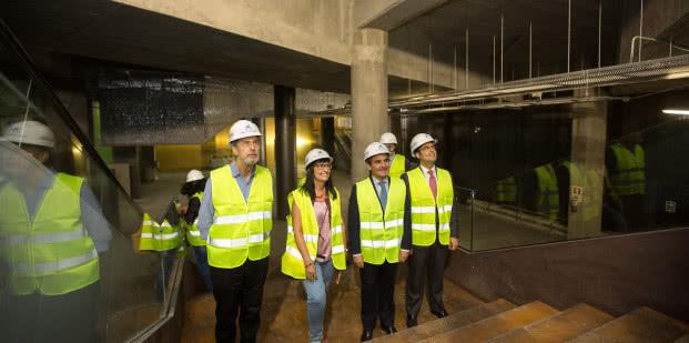 Visita Obras CaixaForum Sevilla.