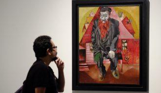 Exposición 'Chagall y sus contemporáneos rusos'.