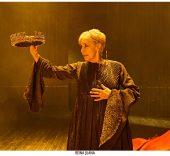 Concha Velasco en 'Reina Juana'. Foto: Sergio Parra.