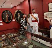 © Casa de S.M. El Rey Don Felipe en una de las salas del Museo Naval de San Fernando.