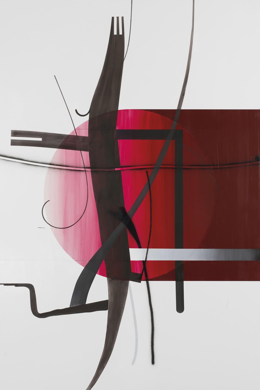 Albert Oehlen. Sin título (Árbol 16) [Untitled (Baum 16)], 2014.