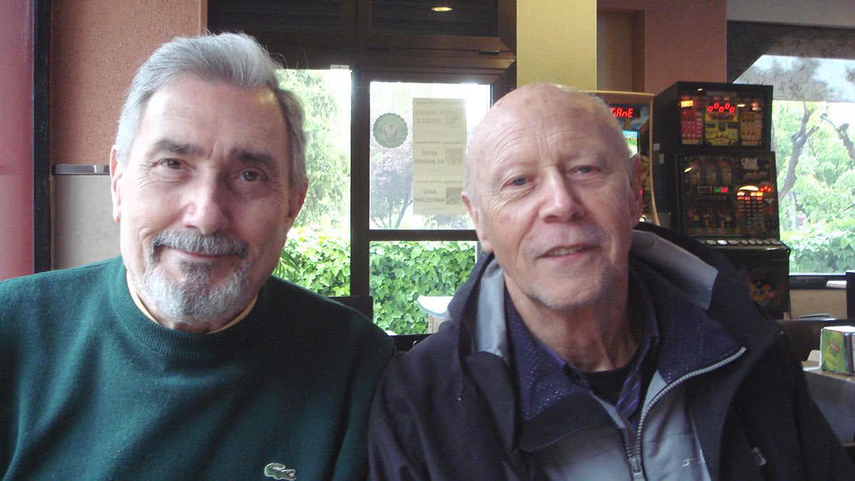 Juan Herrero y José Luis Armenteros.