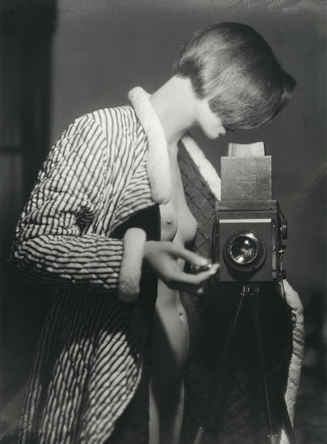 Marianne Breslauer. Self-portrait, Berlin, 1933.