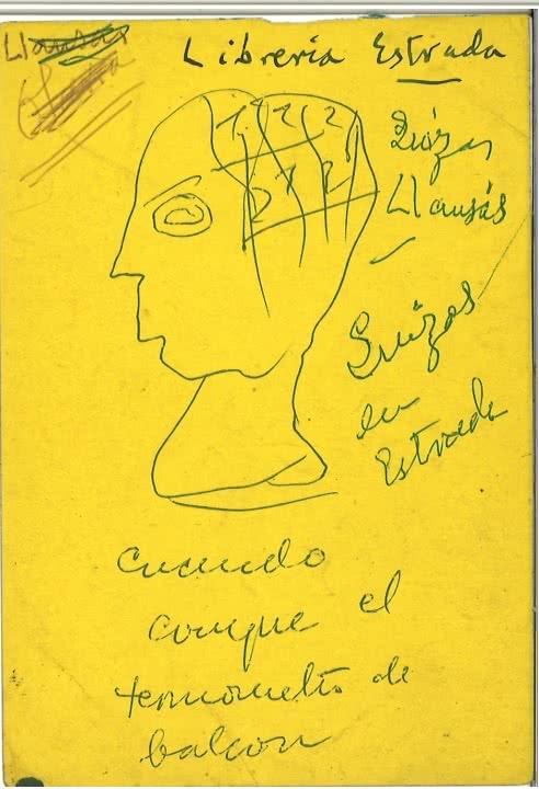 Documento de Ramón Gómez de la Serna.