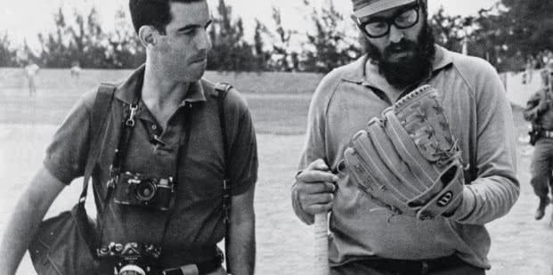 Lee Lockwood. Lockwood on the baseball field with Castro, 1964.