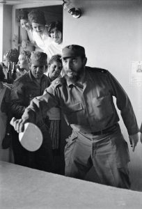Lee Lockwood. Playing ping-pong at school in Santiago de Cuba, 1964.