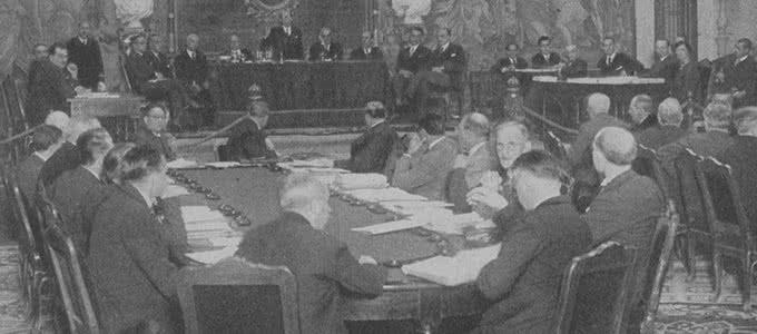 Conferencia Internacional de Museografía organizada por la Sociedad de Naciones en 1934.
