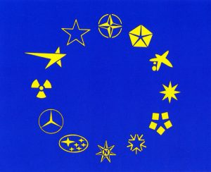 Rogelio López Cuenca. Bandera de Europa, 1992.