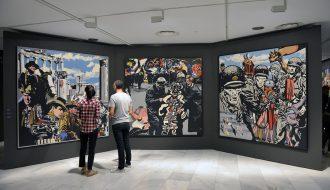 Exposición 'Equipo Crónica'.
