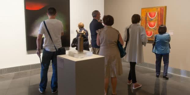Inauguración de la exposición Nuevas incorporaciones a la Colección. Museo Universidad de Navarra. Foto: © Manuel Castells.