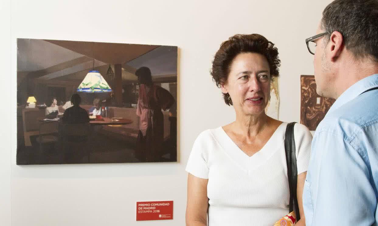 Pere llobera premio comunidad de madrid estampa for Oficina de turismo de la comunidad de madrid