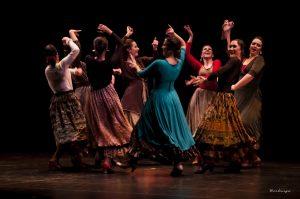 Tela, catola… Danza Española!!! Compañía G9Danza. Foto: Juan Berlanga.