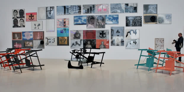 Exposición 'Txomin Badiola. Otro Family Plot'. Foto: Sonia Aguilera.