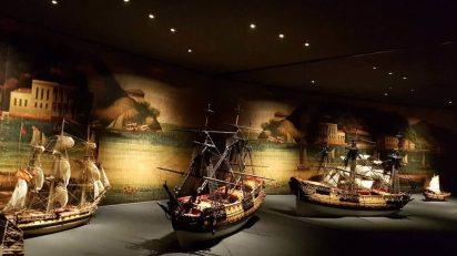 Galeón de Manila. Fotografía: @Museo_Naval
