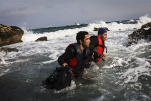© UNHCR/Achilleas Zavallis. 12-12-15. Mytilene, Grecia.
