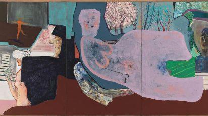 La danza, 1970. Óleo sobre lienzo. 196 x 390 cm. Museo de Bellas Artes de Bilbao.