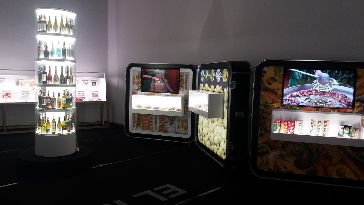 'Tapas: Spanish design for food' en el Centro del Carmen (Valencia).