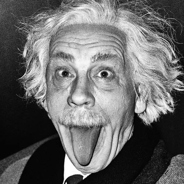 Sandro Miller. Arthur Sasse. Albert Einstein. Sticking Out His Tongue (1951), 2014.