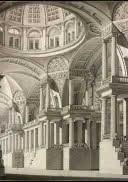 Perspectiva de un interior suntuoso, 1815.