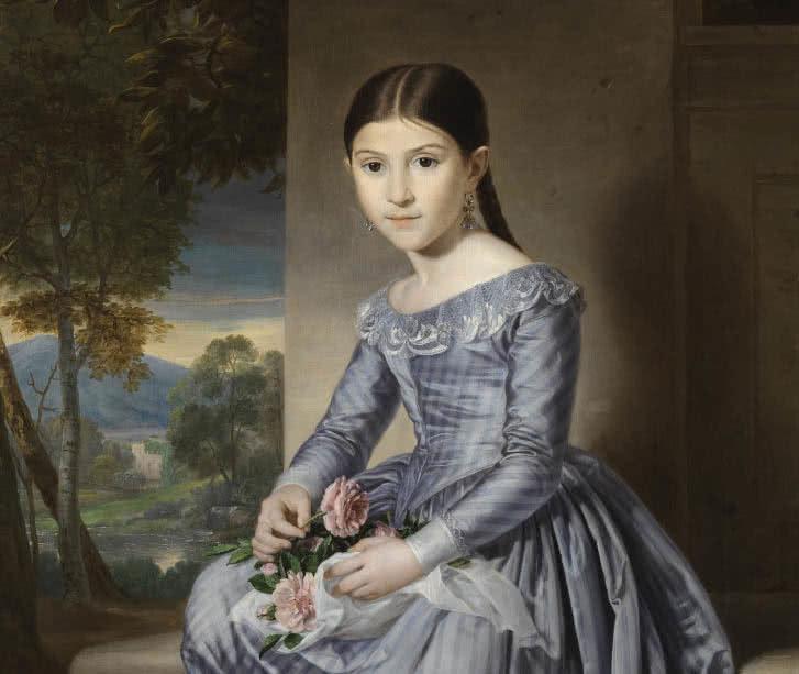 7258e5b14 Retratos infantiles del Romanticismo español - hoyesarte.com