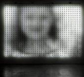 Imagen: Jim Campbell. Home Movies 1040, 2008. Videoinstalación compuesta de 1040 led. Cortesía del artista.
